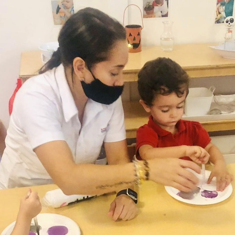 Montessori education is the relationship between the teacher and the student